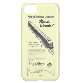 Erie Railroad 1948 New Diesel Locomotives Cover For iPhone 5C