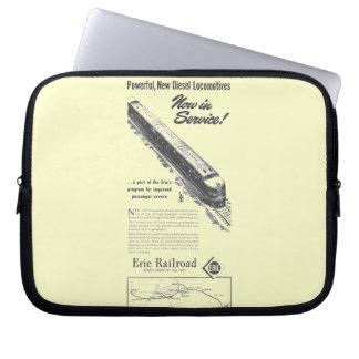 Erie Railroad 1948 New Diesel Locomotives Laptop Sleeves