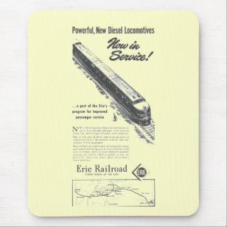 Erie Railroad 1948 New Diesel Locomotives Mouse Pad