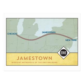 Erie Railroad Postcard