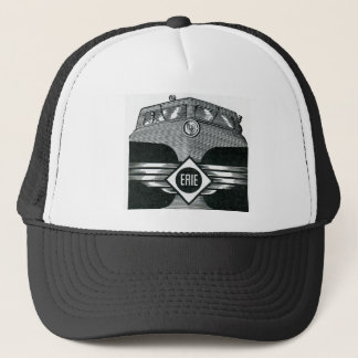 Erie Railroad Suburban Time Tables Cover 1958 Trucker Hat