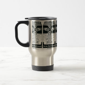 Erie Railroad Suburban TimeTables Cover 1958 Coffee Mugs