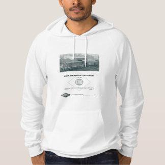 Erie Railroad Uses Lima - Hamilton Diesels Hoodie