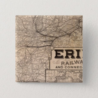 Erie Railway and connections Button