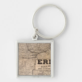 Erie Railway and connections Keychains