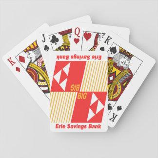 Erie Savings Bank (Red) Playing Cards