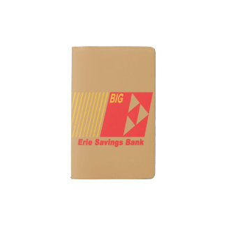 Erie Savings Bank (Red) Pocket Moleskine Notebook