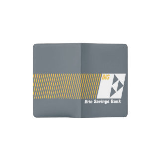 Erie Savings Bank (White) Pocket Moleskine Notebook