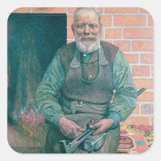 Erik Erikson, The Blacksmith Square Sticker