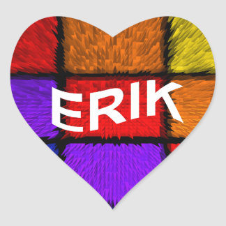ERIK HEART STICKER