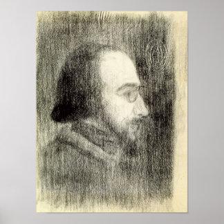 Erik Satie c.1886 Posters