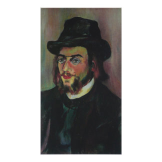 Erik Satie Poster