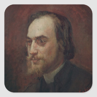 Erik Satie Square Sticker