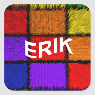 ERIK SQUARE STICKER