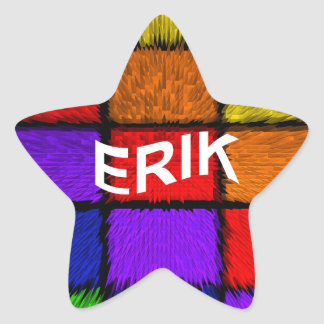 ERIK STAR STICKER