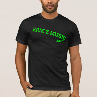 Erik Z music.com T-Shirt