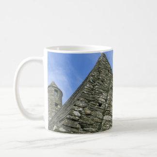 Erin Forever Mug-Church in Glendalough, Ireland Classic White Coffee Mug