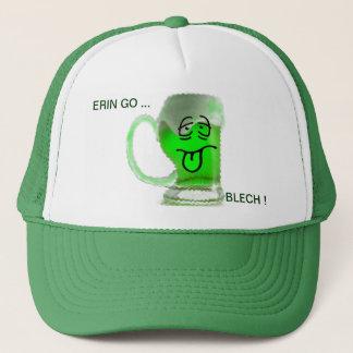 ERIN GO BLECH ! TRUCKER HAT