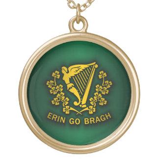 Erin Go Bragh 2 Round Pendant Necklace
