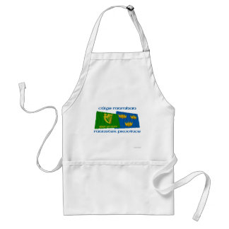 Erin Go Bragh amd Munster Province Flags Adult Apron