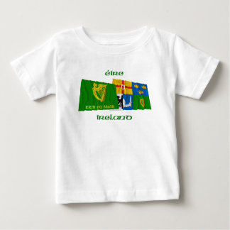 Erin Go Bragh and Four-Province Waving Flags T-shirts