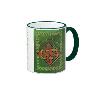Erin go Bragh Celtic Cross FetteFraD 2100X1500 sm Ringer Coffee Mug