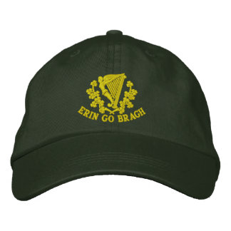 Erin Go Bragh Embroidered Baseball Hat