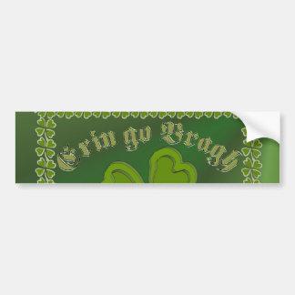 Erin go Bragh FetteFraD 2100X1500 sm SHAMROCK FRAM Bumper Sticker
