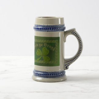 Erin go Bragh FetteFraD 2100X1500 sm SHAMROCK FRAM 18 Oz Beer Stein