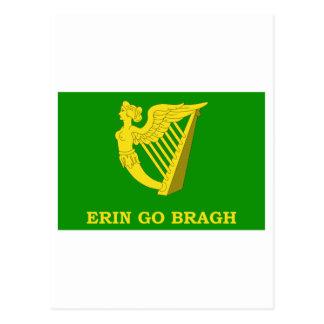 Erin Go Bragh Flag Postcard