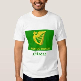 Erin Go Bragh Flag with Name Shirt