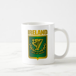 """Erin Go Bragh"" Gold Coffee Mug"