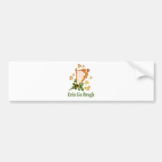 Erin Go Bragh - Ireland Forever Bumper Sticker