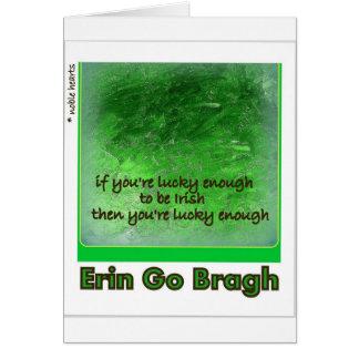 """Erin Go Bragh."" (Ireland Forever) Card"