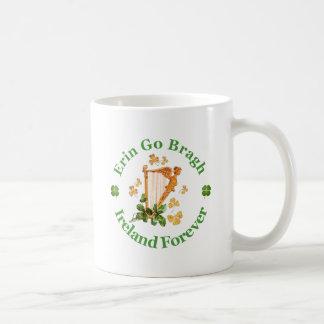Erin Go Bragh - Ireland Forever Classic White Coffee Mug