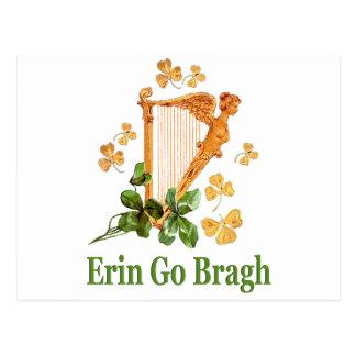 Erin Go Bragh - Ireland Forever Postcard