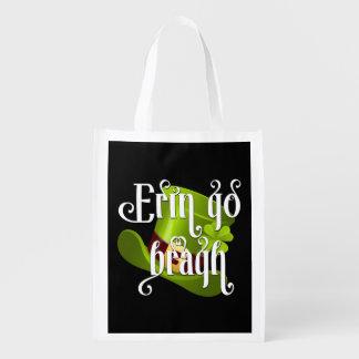 Erin go Bragh Irish Heritage Grocery Bags