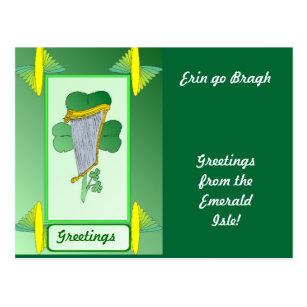 Erin go bragh postcards zazzle erin go bragh irish item postcard m4hsunfo