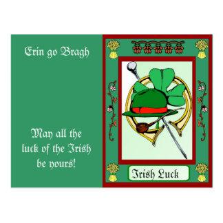 Erin go Bragh, Irish item Postcard