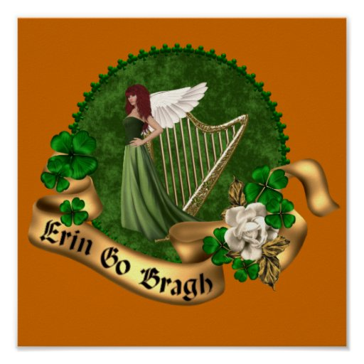 Erin Go Bragh Irish Poster