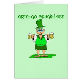 Erin Go Bragh Less Card