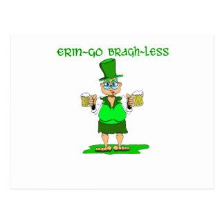 Erin Go Bragh Less Postcard