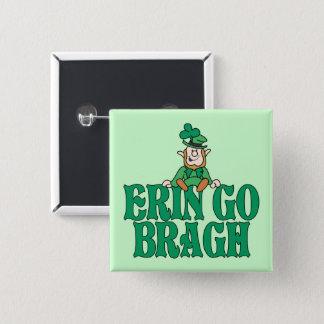 Erin Go Bragh Little Leprechaun Button