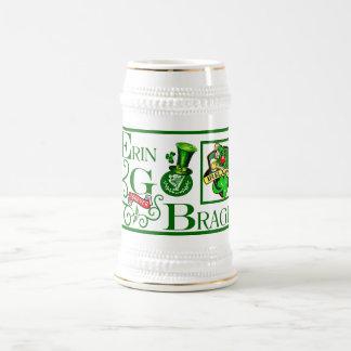 Erin Go Bragh! 18 Oz Beer Stein