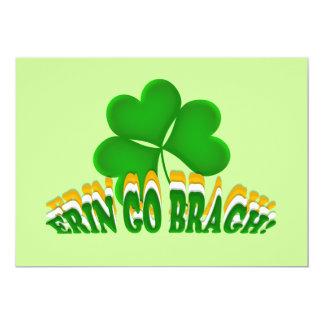 Erin Go Bragh Party Invitation Template