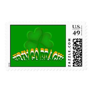 Erin Go Bragh! Postage Stamp