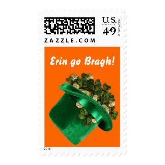 Erin go Bragh Postage stamp