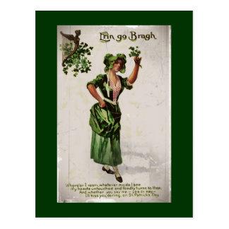 Erin Go Bragh Postcard