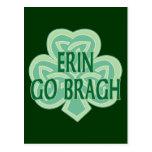 Erin Go Bragh Postcards