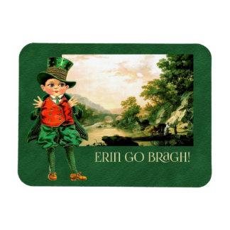 Erin Go Bragh. St. Patrick's Day Gift Magnet